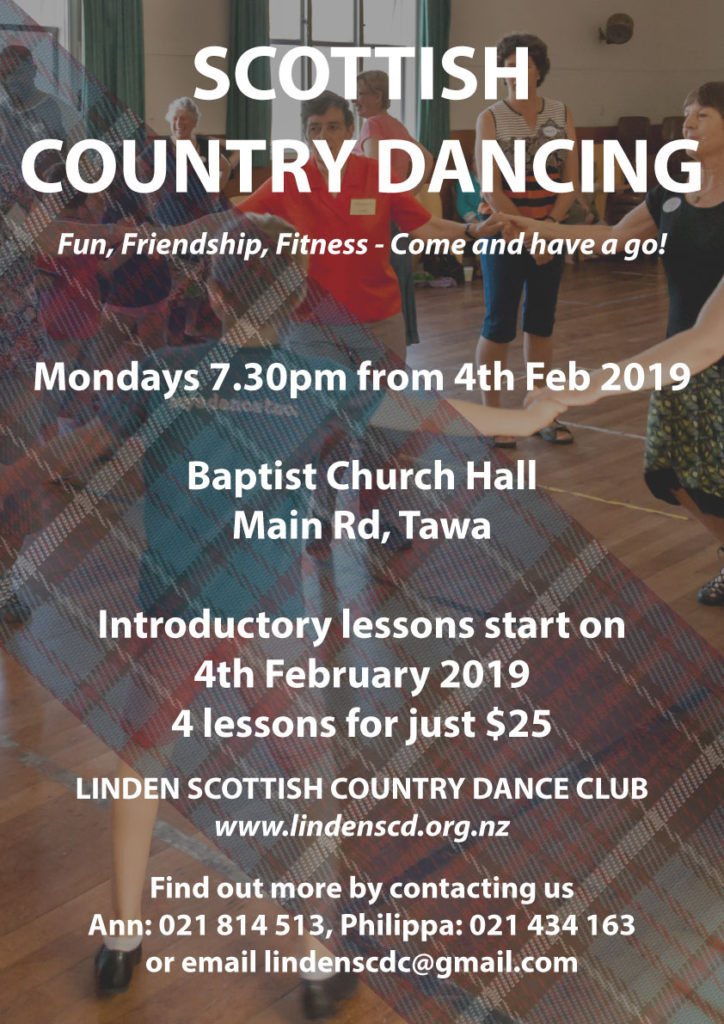 Beginners Classes 2019 @ Tawa Baptist Church Hall | Wellington | Wellington | New Zealand
