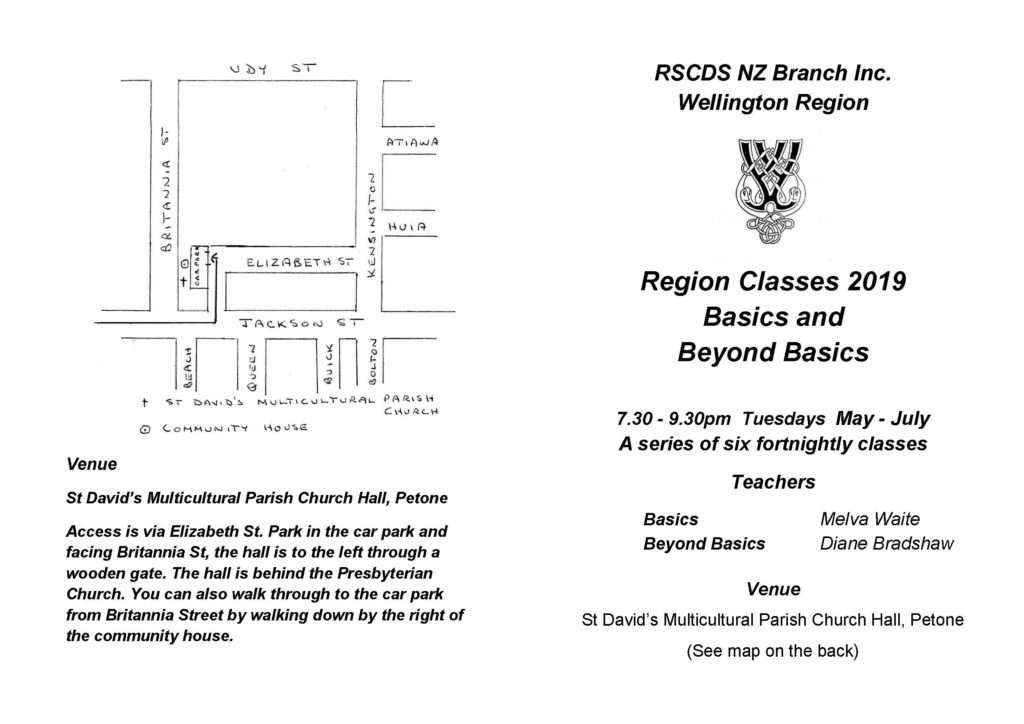 Basics Region Class @ St David's Multicultural Church Hall | Lower Hutt | Wellington | New Zealand