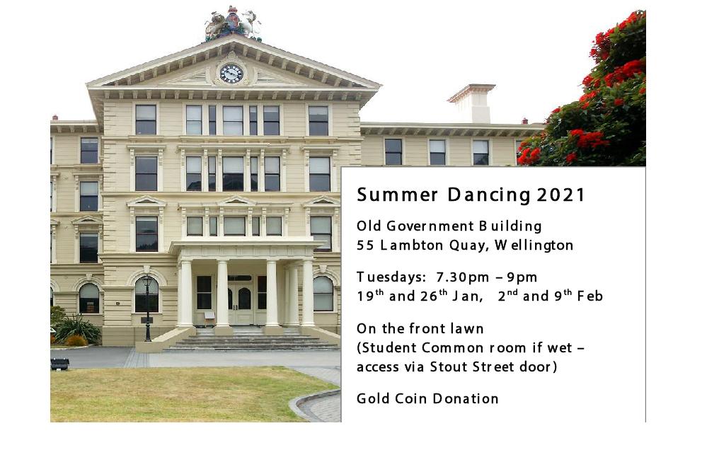 Summer Dancing @ Old Government Building   Wellington   Wellington   New Zealand