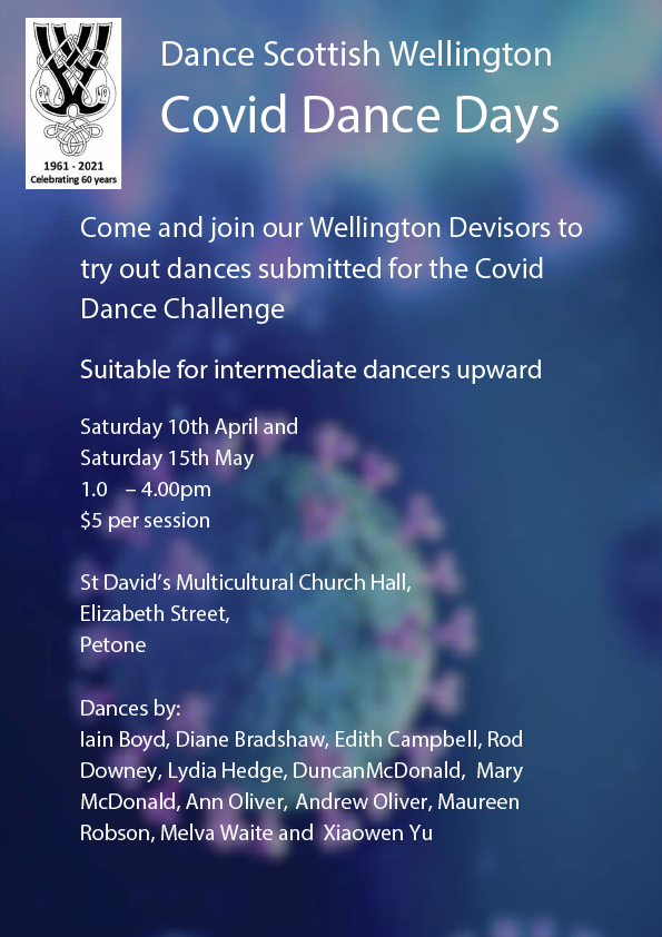COVID Dance Day @ St David's Multicultural Church Hall | Lower Hutt | Wellington | New Zealand
