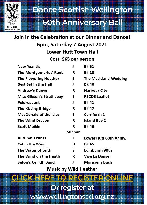 Wellington Region 60th Anniversary Dance @ Lower Hutt Town Hall | Lower Hutt | Wellington | New Zealand